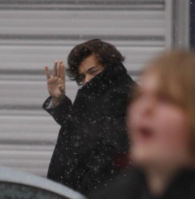 Harry Styles le 13 février 2013 à Leeds