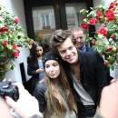 Harry Styles et ses groupies à Paris