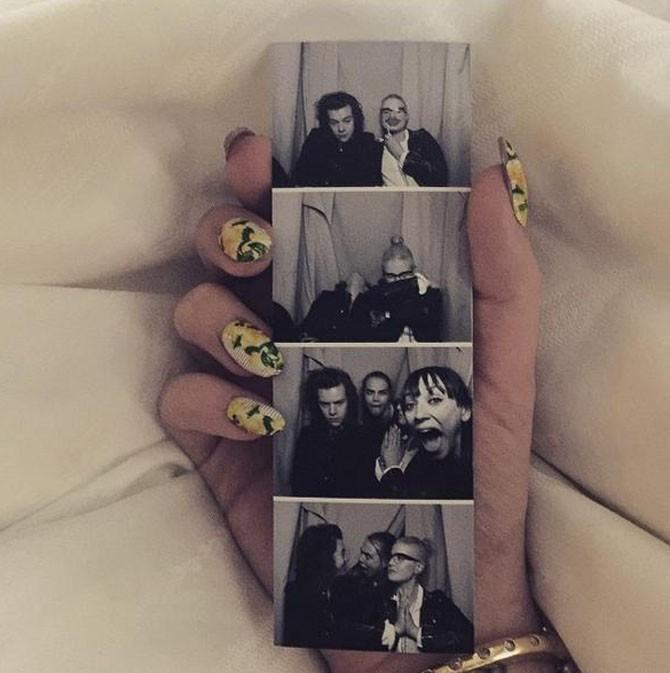 Anniversaire d'Harry Styles à Los Angeles le 1er février 2015
