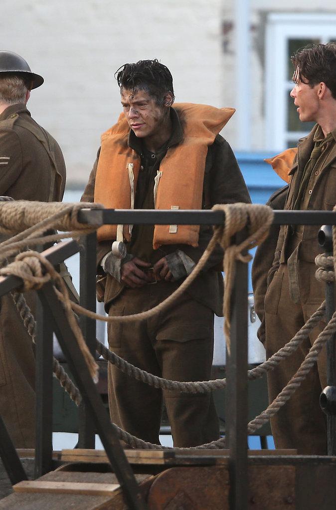 Harry Styles est sur le tournage de Dunkirk