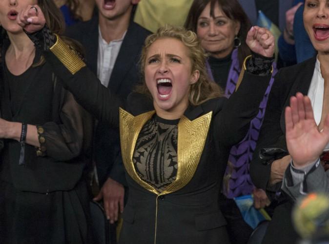 Hayden Panettiere : survolt�e pour son homme, elle fait trembler le Madison Square Garden !