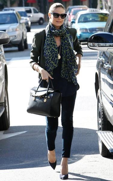 Heidi klum à Beverly Hills, le 2 janvier 2013.