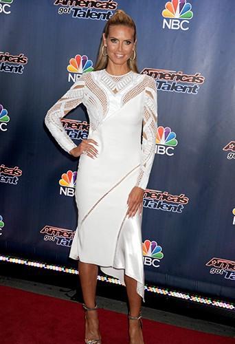 Heidi Klum à New York le 29 juillet 2014