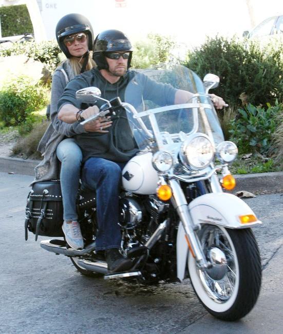 Heidi Klum et Martin Kristen, Santa Monica, 19 janvier 2013.