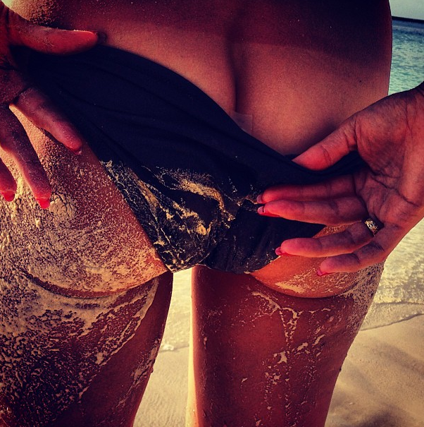 Heidi Klum en vacances aux Bahamas