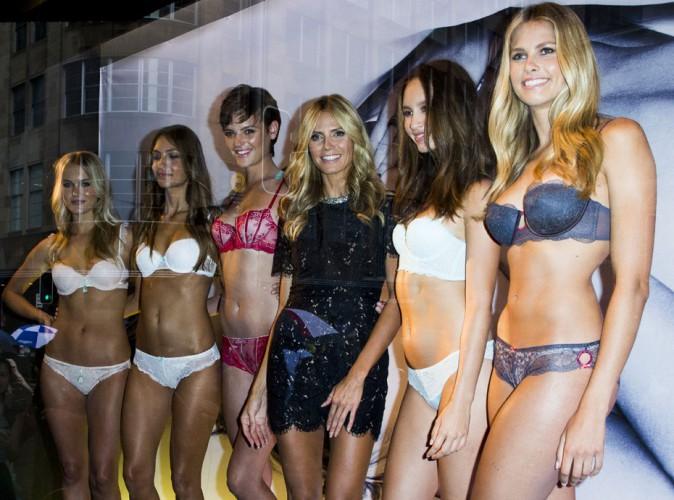 Heidi Klum : entourée de beautés dénudées à Sydney !
