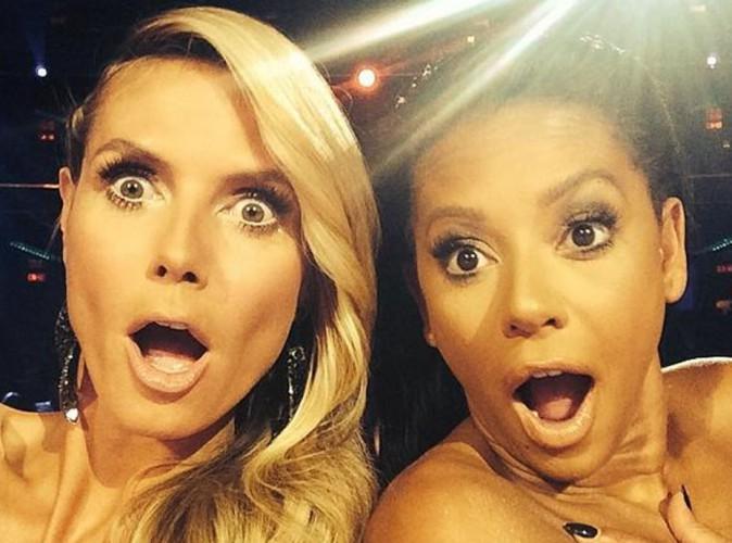 Heidi Klum et Mel B : elles s'amusent à jouer les jurées dénudées sur le plateau d'America's Got Talent !