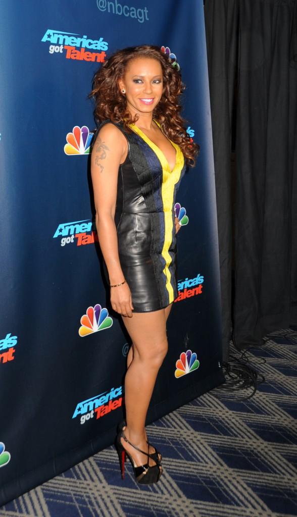Mel B lors de l'after-party d'America's Got Talent, le 21 août 2013.