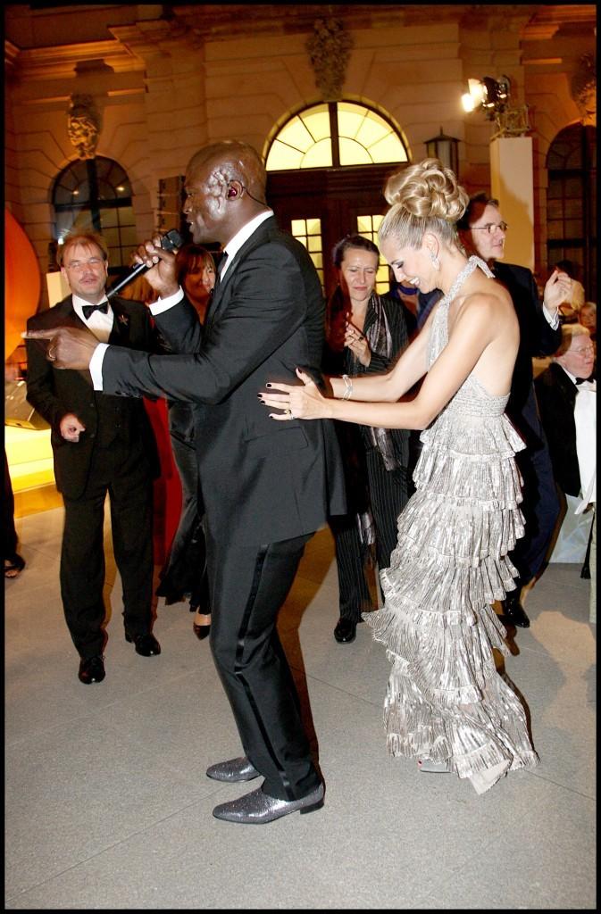 Heidi Klum et Seal étaient toujours les premiers pour la chenille !