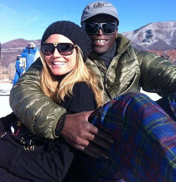 Il y a moins d'un mois...heureux au ski...