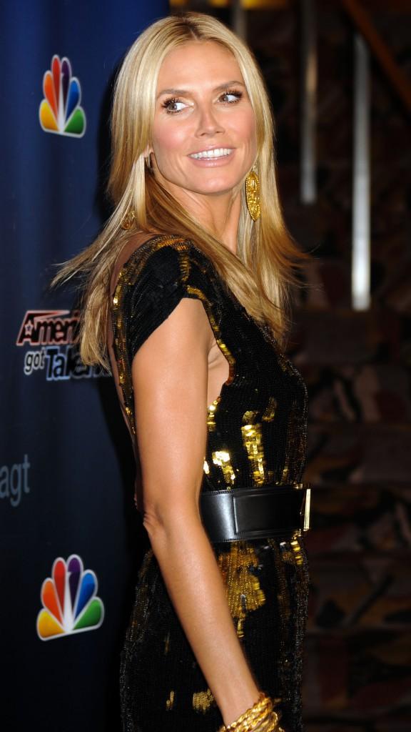 """Heidi Klum : étincelante à la soirée """"America's Got Talent"""" !"""