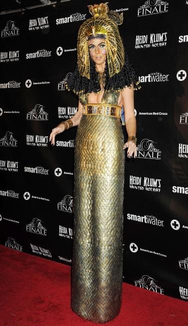 Heidi Klum le 1er décembre 2012 à New York