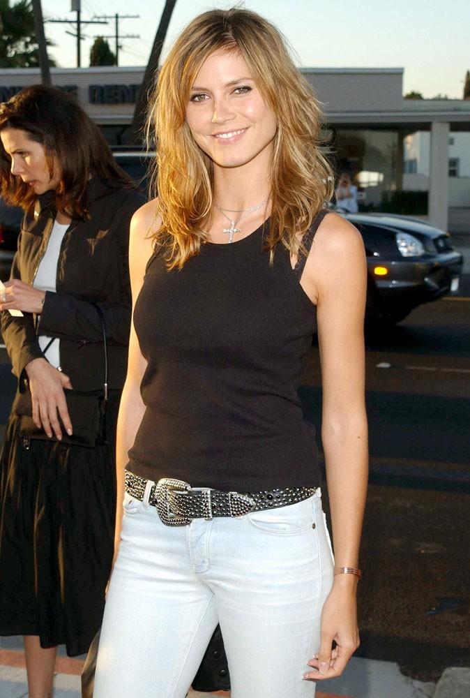 Photos : Heidi Klum en 2002