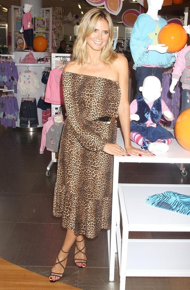 Heidi Klum le 15 août 2012 à New York