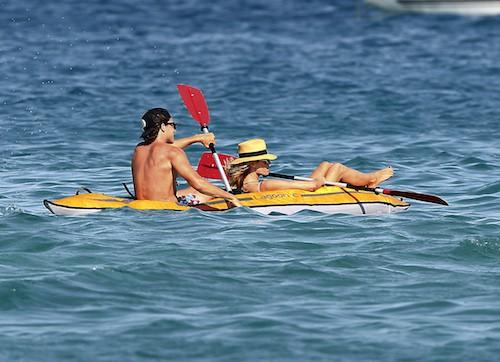 Photos : Heidi Klum, les vacances de l'amour avec Vito Schnabel !