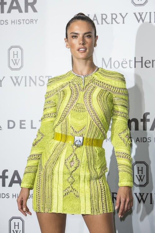 Alessandra Ambrosio à Milan, le 26 septembre 2015