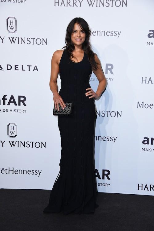 Michelle Rodriguez à Milan, le 26 septembre 2015