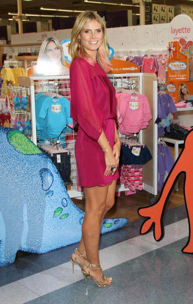 Heidi Klum le 14 septembre 2012 à Calabasas