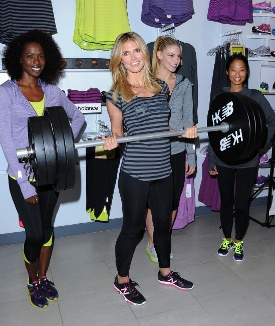 Heidi Klum, Los Angeles, 14 mars 2013.