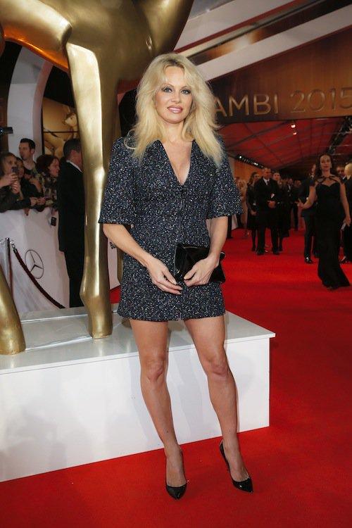 Pamela Anderson à la cérémonie des Bambi Awards à Berlin, le 12 novembre 2015