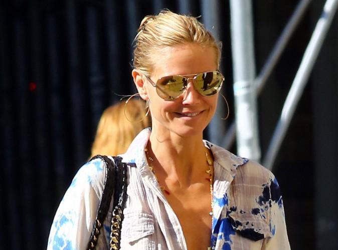 Photos : Heidi Klum : tout sourire après avoir été vue avec son sexy bodyguard !