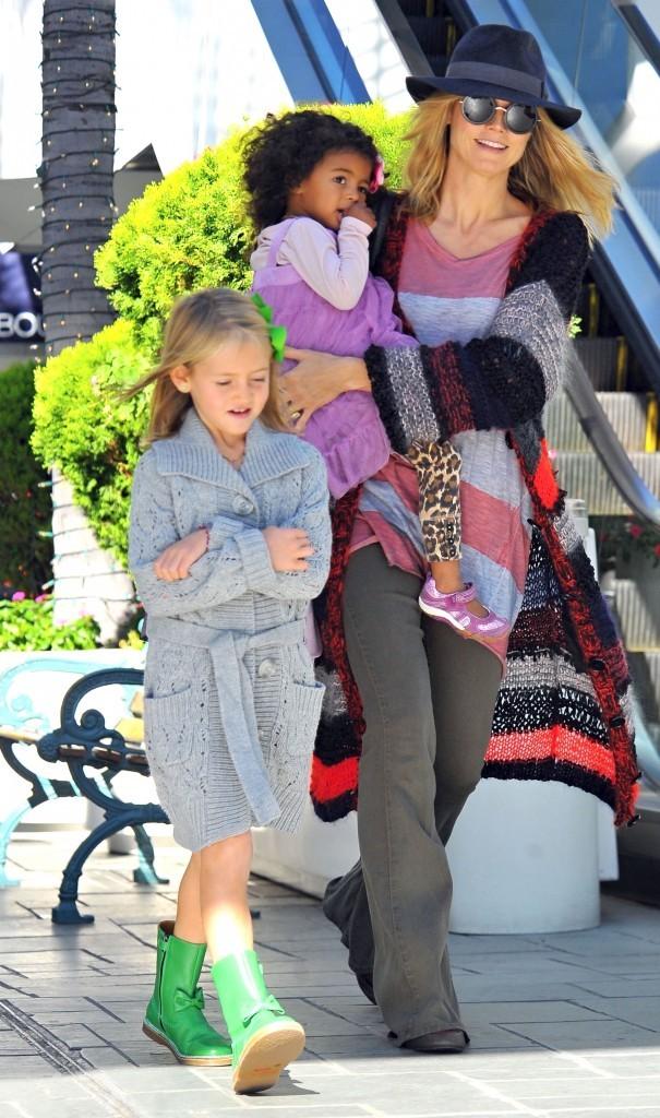 Heidi Klum et ses merveilles !