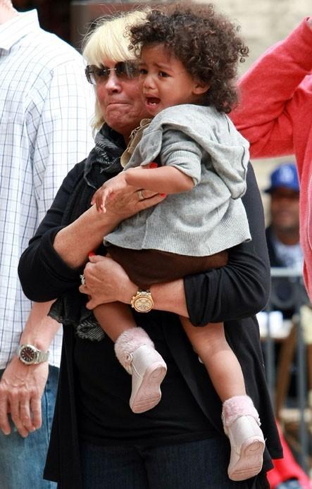 Lou pleure !
