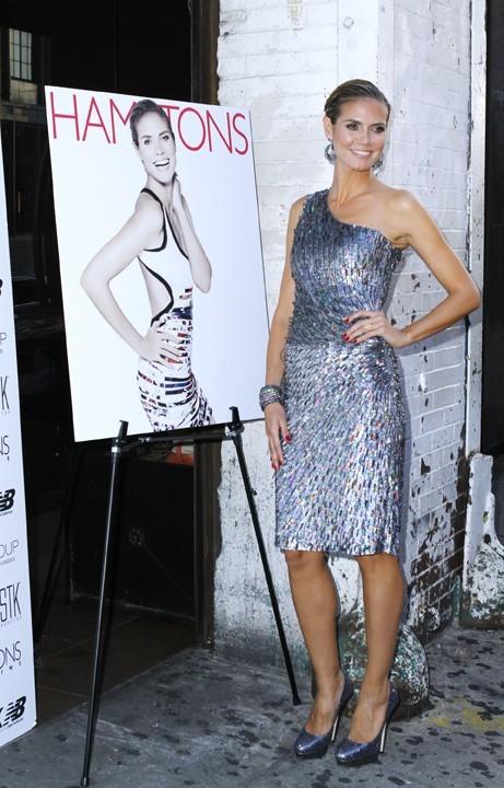 Heidi Klum lors de la soirée Hamptons Magazine à New York, le 29 juin 2011.