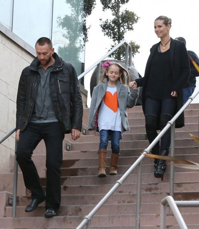 Heidi Klum en vadrouille avec ses enfants et son boyfriend