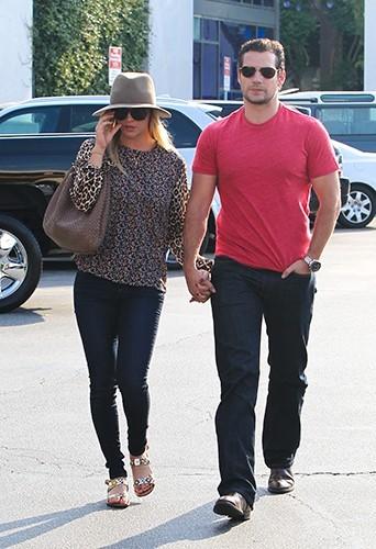 Henry Cavill et Kaley Cuoco à Los Angeles le 3 juillet 2013