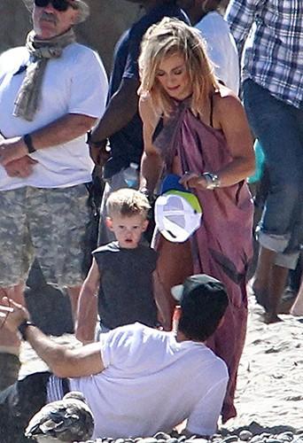 Hilary Duff à Los Angeles le 11 juillet 2014