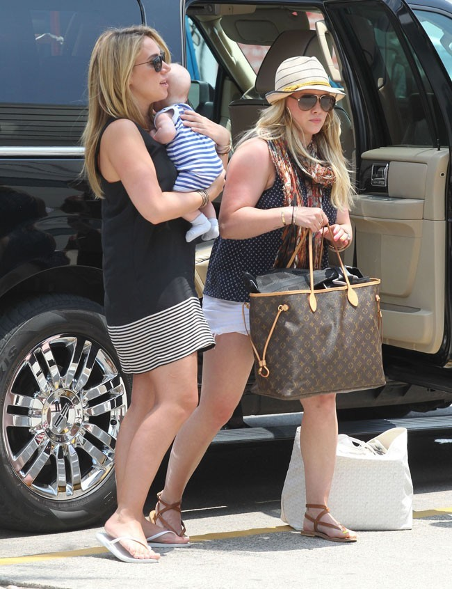 Hilary Duff le 29 juin 2012 à Cabo San Luca