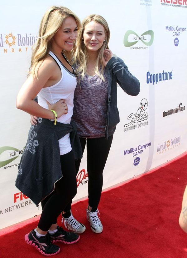 Haylie et Hilary Duff à Santa-Monica le 3 juin 2012