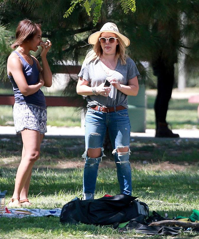 Hilary Duff en danger, la police la met en garde !
