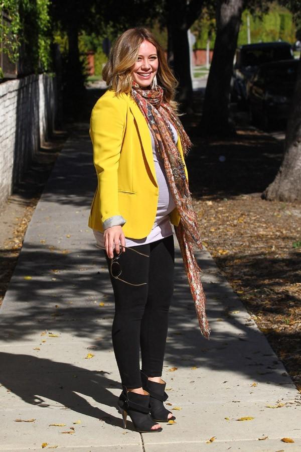 Hilary Duff stylée dans les rues de Los Angeles