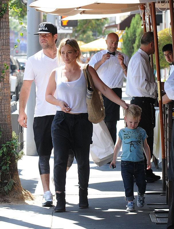 Hilary Duff : l'homme de sa vie, c'est son adorable petit Lucas !