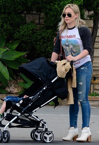 Hilary Duff à Los Angeles le 29 mars 2014