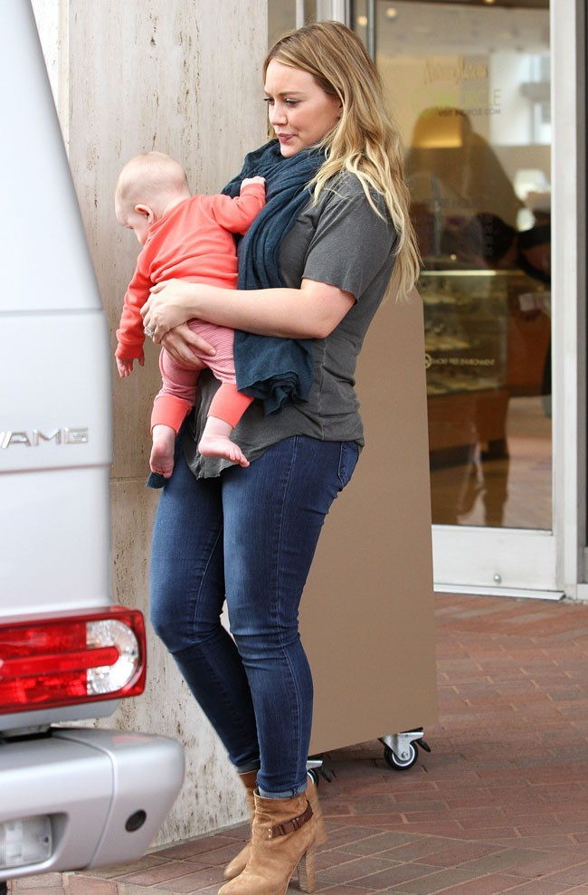 Hilary Duff le 6 septembre 2012 à Beverly Hills