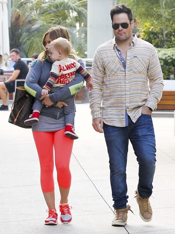Hilary Duff en famille