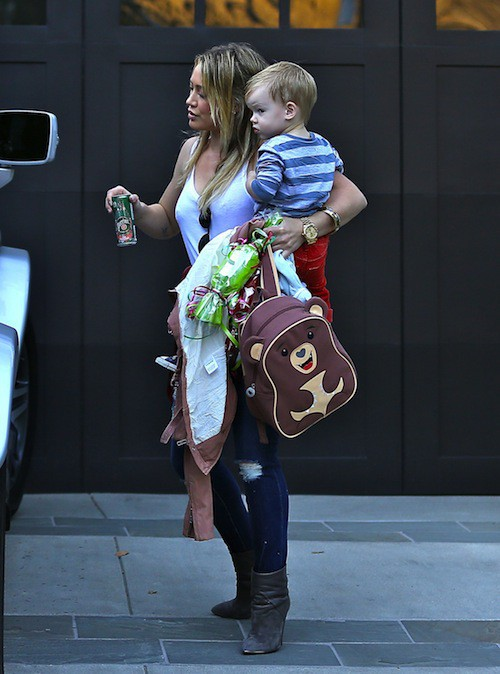 Photos : Hilary Duff : trois jours après l'annonce de son divorce, elle sort sans son alliance !