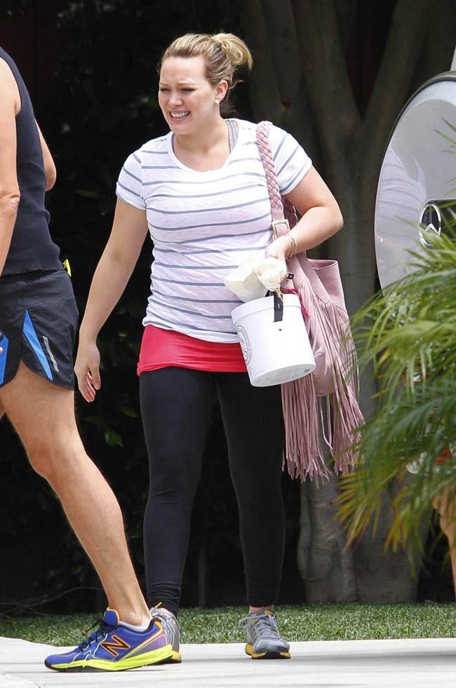 Hilary Duff le 3 mai 2012 à Los Angeles