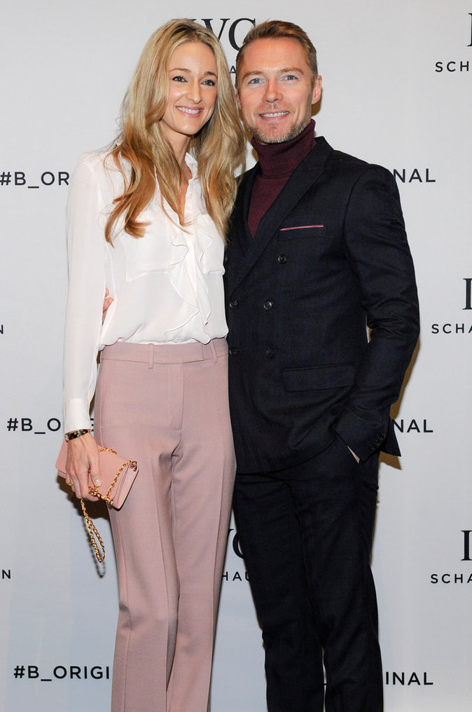 Ronan Keating et sa femme