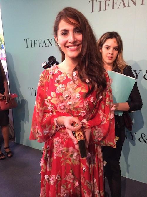 L'inauguration de la boutique Tiffany & Co sur les Champs-Elysées le 10 juin !