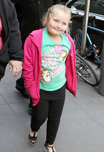 Honey Boo Boo : la princesse de la trash-tv américaine est une sacrée gourmande !