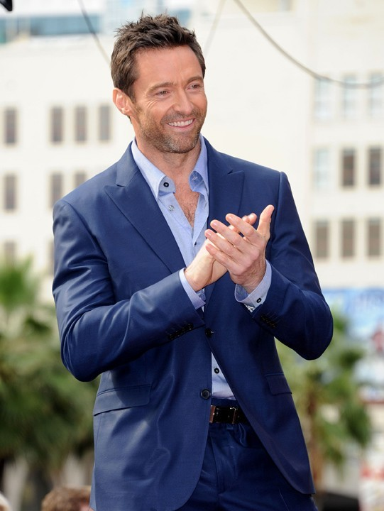 Hugh Jackman honoré sur le Walk of Fame à Hollywood le 13 décembre 2012