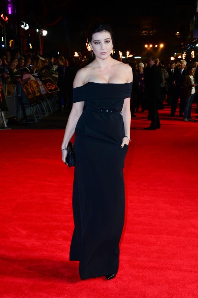 Daisy Lowe à la promo de Hunger Games à l'Odeon Leicester Square, le 10 novembre 2014