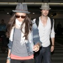 Tous les deux adeptes des chapeaux !
