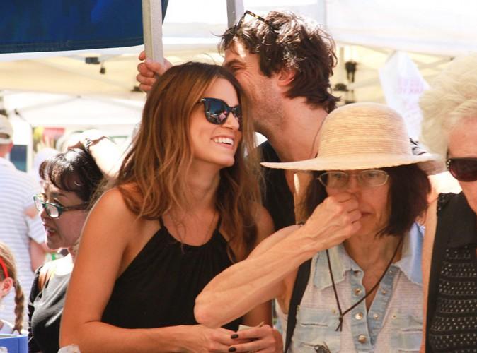 Ian Somerhalder et Nikki Reed à Los Angeles le 17 août 2014