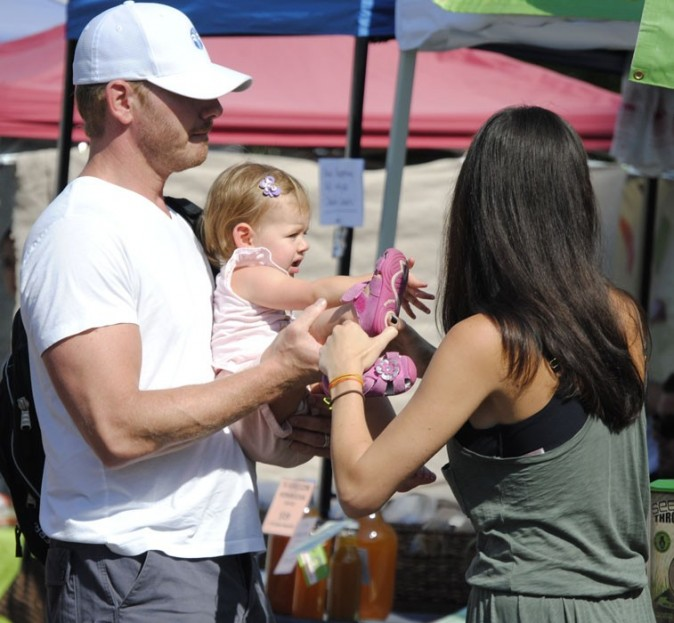 L'ancien Steve de Beverly Hills goûte aux joies de la paternité