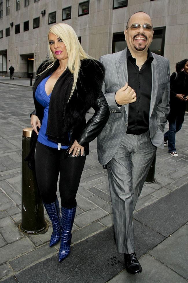 Ice-T et Coco le 8 novembre 2012 à New York